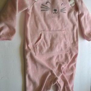 Carter's Baby Girls 9 Mon 1 piece Sleeper Pajama